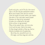 Sonnet # 3 by William Shakespeare Round Stickers