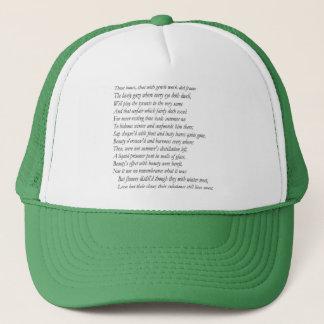 Sonnet # 5 by William Shakespeare Trucker Hat