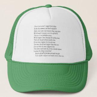 Sonnet # 6 by William Shakespeare Trucker Hat