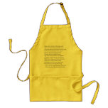 Sonnet # 8 by William Shakespeare Apron