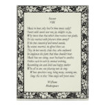 Sonnet # 8 by William Shakespeare Poster