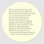 Sonnet # 8 by William Shakespeare Stickers