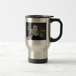 Sonnet Man travel mug