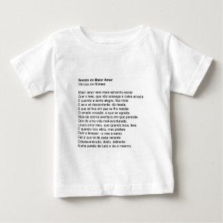 Sonnet of the Love Biggest - Vinícius de Moraes Shirt