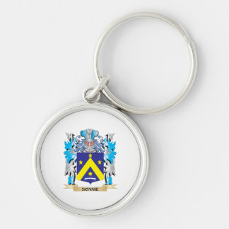 Sonnie Coat of Arms - Family Crest Keychain