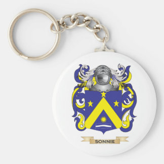 Sonnie Coat of Arms (Family Crest) Key Chain