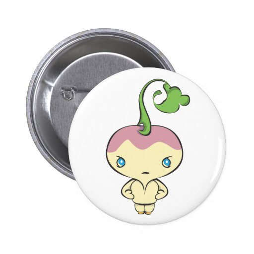Sonniton State University Turnips 2 Inch Round Button