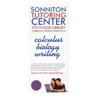 Sonniton Tutoring Center Rack Card