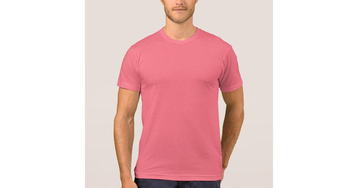 Sonny Crockett's Pastel Pink T-Shirt | Zazzle