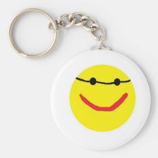 Sonny Basic Round Button Keychain