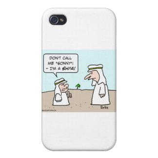 sonny musulmán musulmán árabe de chiíta del shi'a iPhone 4/4S carcasa