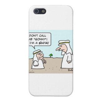 sonny musulmán musulmán árabe de chiíta del shi'a iPhone 5 carcasas