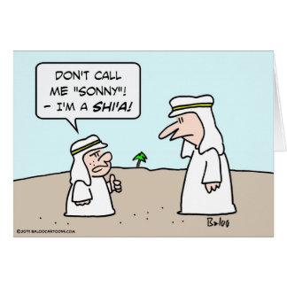 sonny musulmán musulmán árabe de chiíta del shi'a  felicitaciones