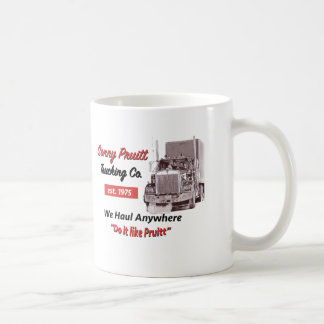 Sonny PruittTrucking Co. Mug