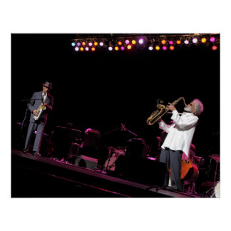 Sonny Rollins and Ornette Coleman Poster