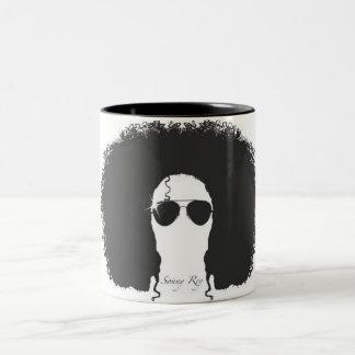 Sonny taza negra/blanca de Rey