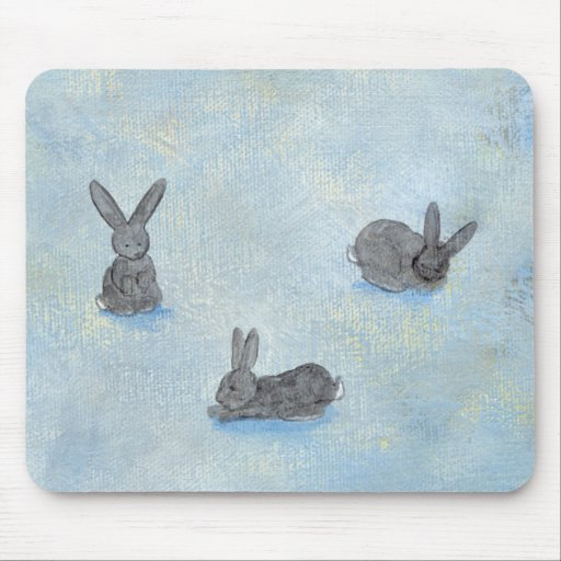Soño con la pintura única del arte moderno de la d tapete de ratones