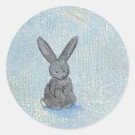 Soño con la pintura única del arte moderno de la pegatina redonda