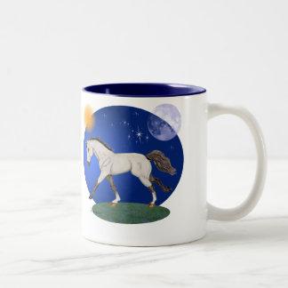 Soño con la taza de los potros de Connemara