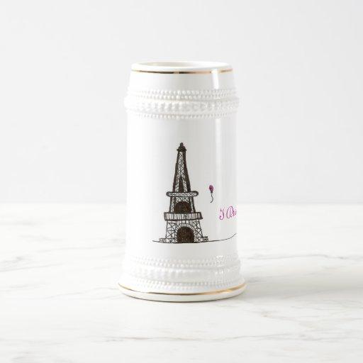 Soño con París, 2 Jarra De Cerveza