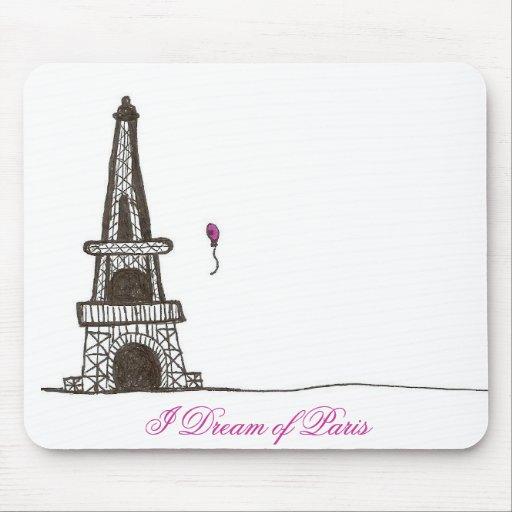 Soño con París, 2 Tapetes De Ratones