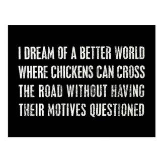 Soño con un mejor mundo… postales
