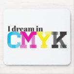Soño en CMYK Alfombrillas De Ratones