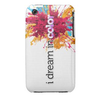 soño en piel del iPhone 3g del color (chapoteo) Case-Mate iPhone 3 Fundas
