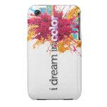 soño en piel del iPhone 3g del color (chapoteo) iPhone 3 Case-Mate Coberturas