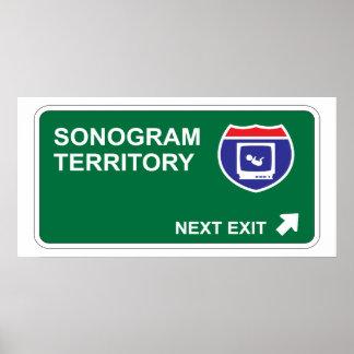 Sonogram Next Exit Poster