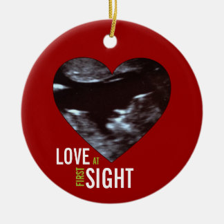 Sonogram Ornament - Love at First Sight