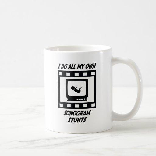 Sonogram Stunts Classic White Coffee Mug