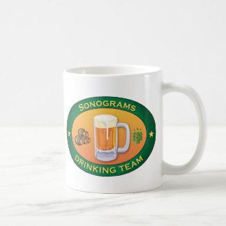 Sonograms Drinking Team Coffee Mugs