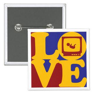 Sonograms Love Pins