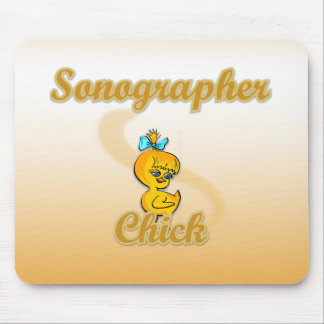 Sonographer Chick Mousepads