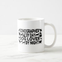 Sonographer Dog Lover Coffee Mug