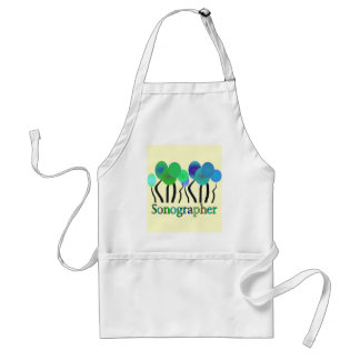 Sonographer Gifts Adult Apron
