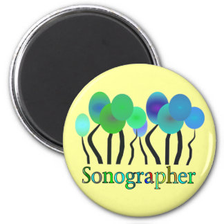 Sonographer Gifts Fridge Magnets