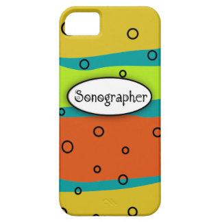 Sonographer iPhone 5 Case Artsy Citrus