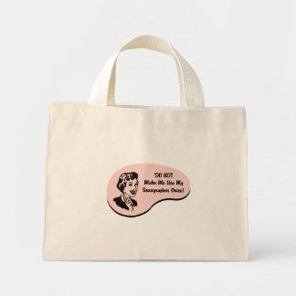 Sonographer Voice Mini Tote Bag