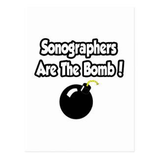Sonographers Are The Bomb! Postcard