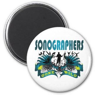 Sonographers Gone Wild 2 Inch Round Magnet