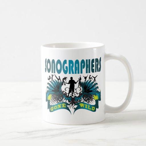Sonographers Gone Wild Classic White Coffee Mug
