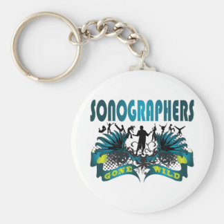 Sonographers Gone Wild Key Chain