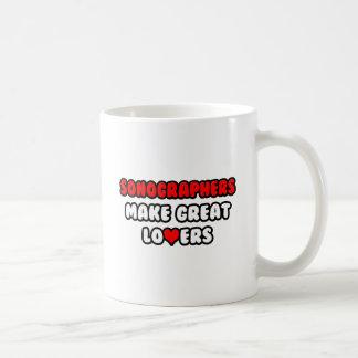 Sonographers Make Great Lovers Classic White Coffee Mug