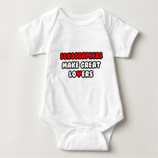 Sonographers Make Great Lovers T-shirts