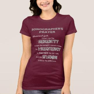 Sonographer's Prayer T-Shirt