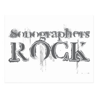 Sonographers Rock Postcard