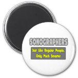 Sonographers...Smarter Refrigerator Magnets