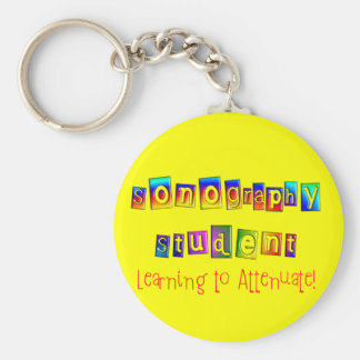 Sonography Student Gifts Keychain